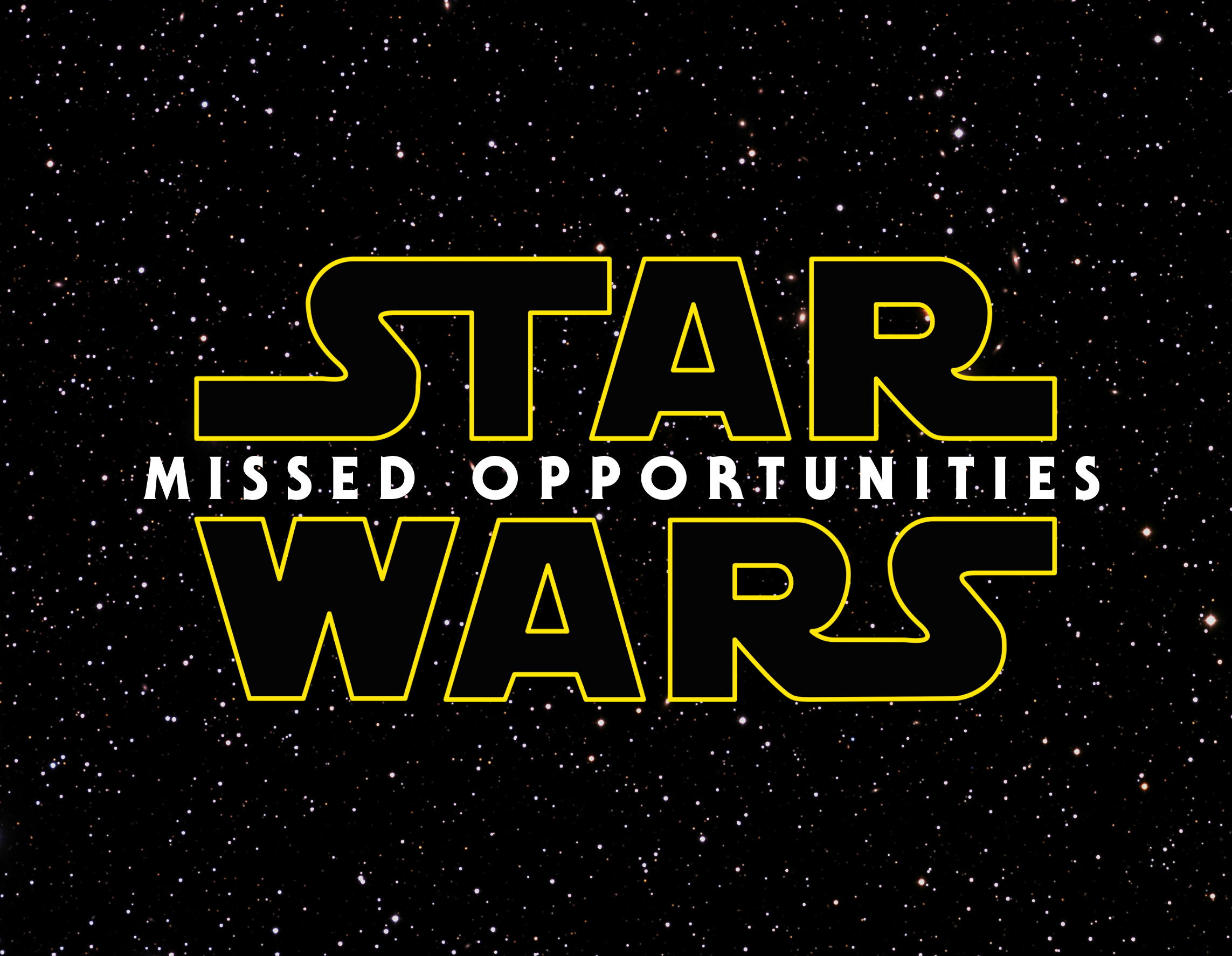Once a generation, there comes a clunker of a Star Wars film...